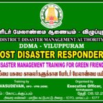PROVIDED TRAINING TO GREEN FRIENDS AS POST DISASTER RESPONDENT